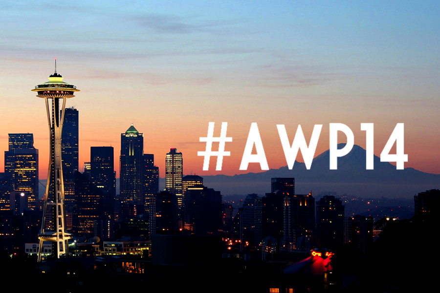 A Few Highlights of AWP 2014 in Seattle (burning man + more)