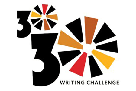 30/30 Challenge Calendar (Can you write 30 minutes a day?)