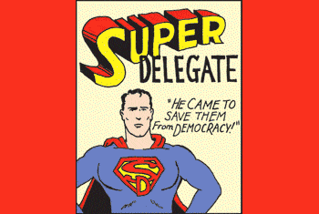 The Anti-Democratic Impact of Super Delegates