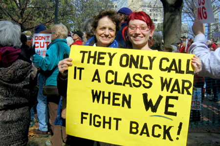 It's Called Class Warfare, People